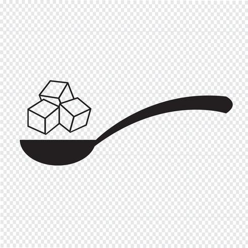 Zucker Symbol Symbol Zeichen