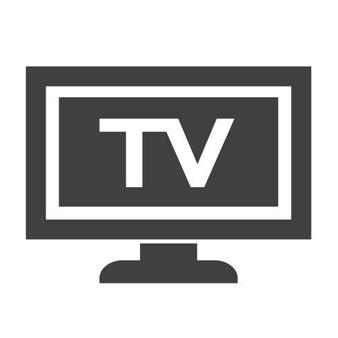 TV ikon design Illustration