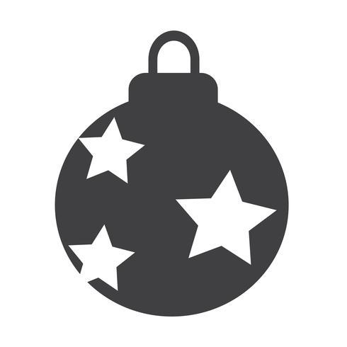Christmas Ball icon design Ilustração