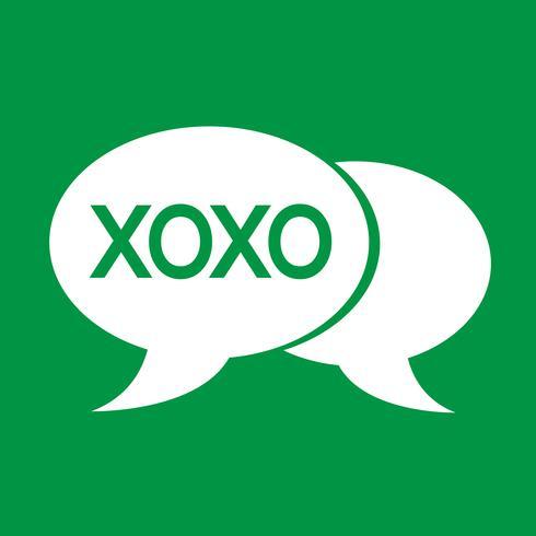 Internet Akronym Chat Blase Abbildung