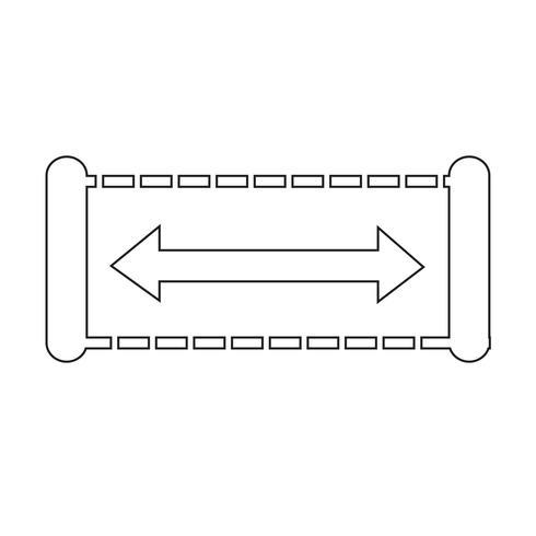Breite Icon Design Illustration