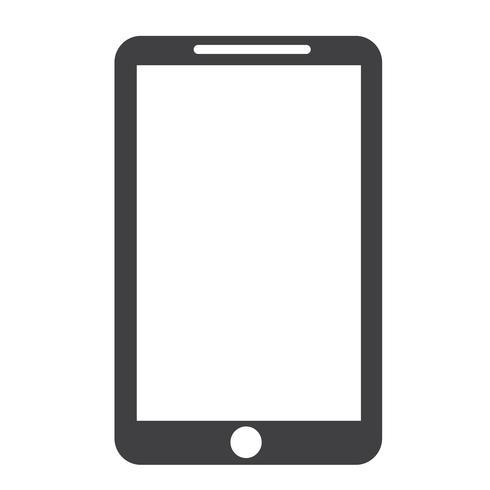 Smartphone-Symbol Symbol Zeichen