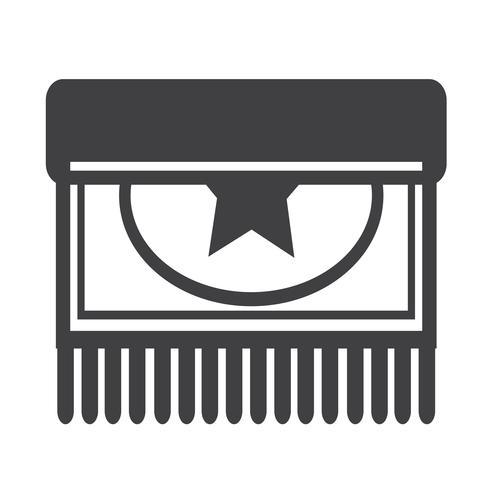 Carpet icon design illustration vettore