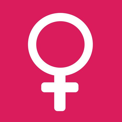 weibliche Zeichen Symbol Abbildung