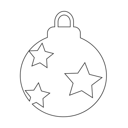 Weihnachtsballikonendesign Illustration