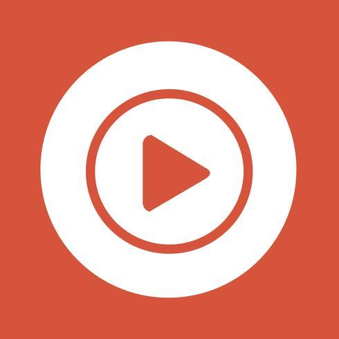 jugar botón icono diseño ilustración
