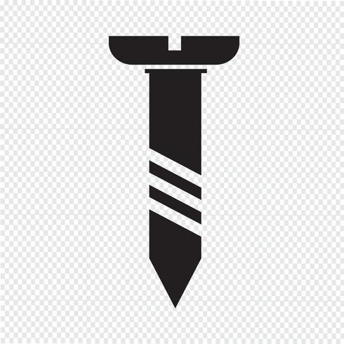 Schraubensymbol Symbol Illustration