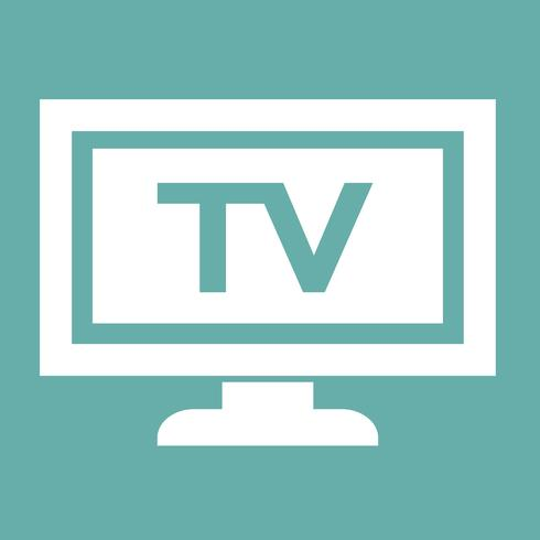 icono de tv diseño ilustración