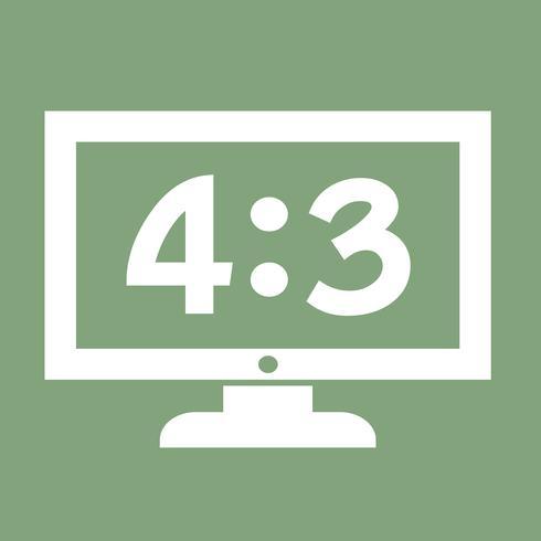 TV Icon Design Illustration