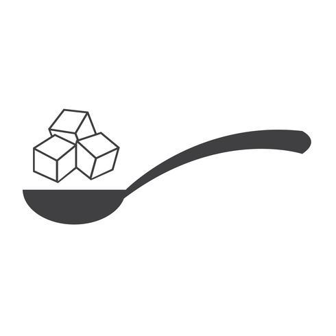 segno simbolo icona di zucchero