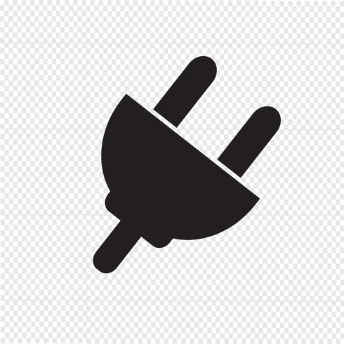 icono de plugins signo ilustración