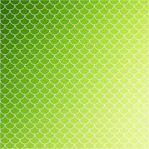 Patrón de tejas verdes, plantillas de diseño creativo