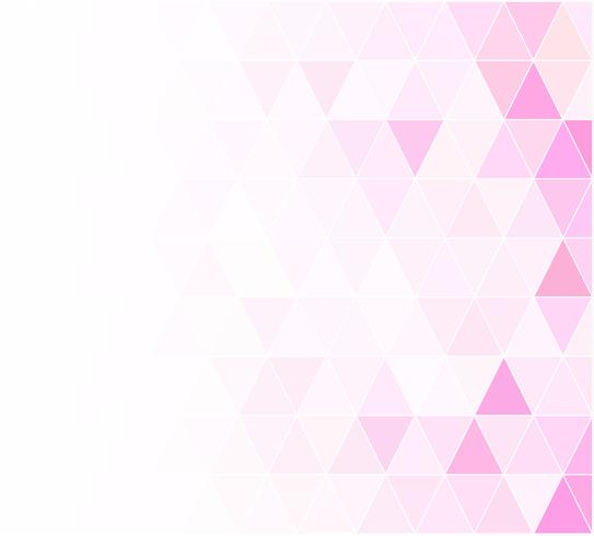 Roze raster mozaïek achtergrond, creatief ontwerpsjablonen