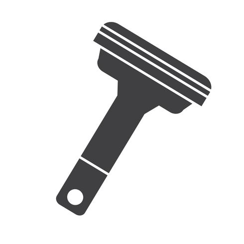 Shavers  icon  symbol sign vector