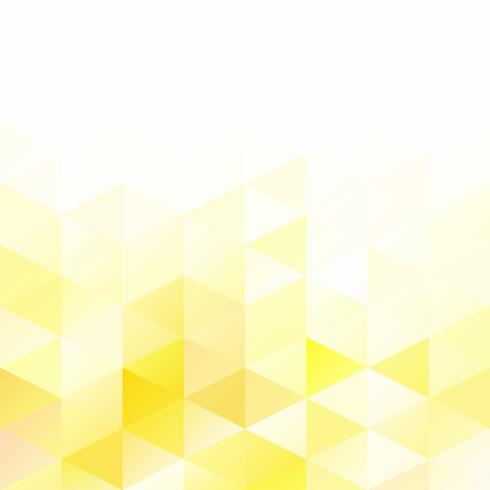 Yellow Grid Mosaic Background, Creative Design Templates vector