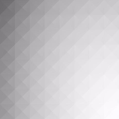 Fondo gris mosaico blanco rejilla, plantillas de diseño creativo