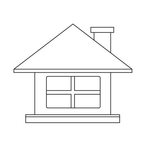 Home Icon symbol tecken
