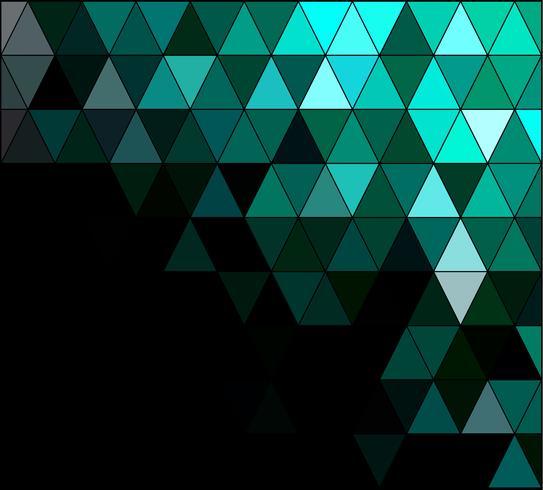 Groen vierkant raster mozaïek achtergrond, creatief ontwerpsjablonen