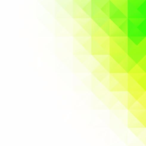 Groene raster mozaïek achtergrond, creatief ontwerpsjablonen