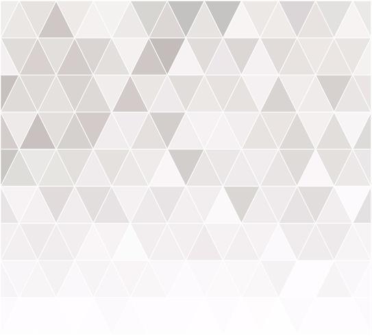 Grijs-wit raster mozaïek achtergrond, creatief ontwerpsjablonen