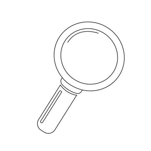 Pesquisar ícone símbolo sinal