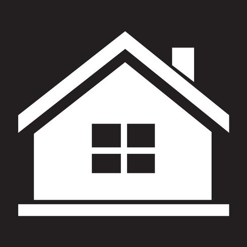 Home icon  symbol sign vector