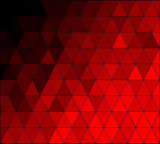 Fondo de mosaico de cuadrícula de color rojo, plantillas de diseño creativo vector