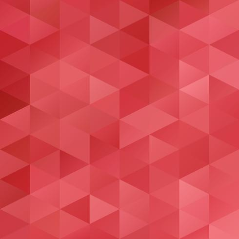 Roter Gitter-Mosaik-Hintergrund, kreative Design-Schablonen