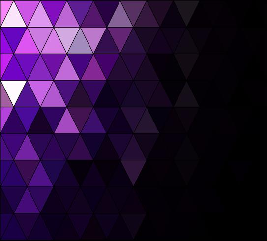 Fondo de mosaico de cuadrícula púrpura, plantillas de diseño creativo