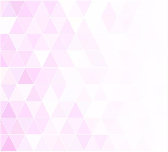Rosa Gitter-Mosaik-Hintergrund, kreative Design-Schablonen
