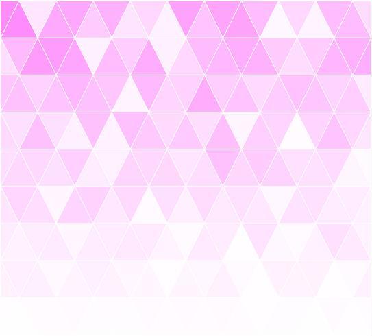Fondo mosaico de rejilla rosa, plantillas de diseño creativo