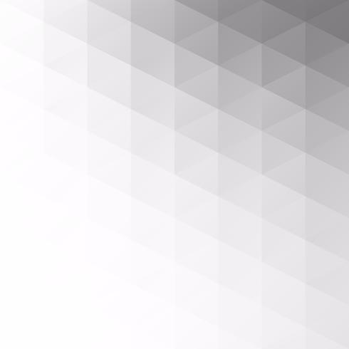 Gray White Grid Mosaic Background, kreative Design-Schablonen