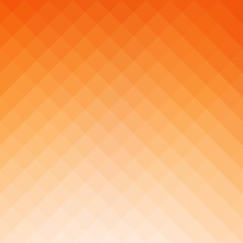 Orange quadratischer Gitter-Mosaik-Hintergrund, kreative Design-Schablonen