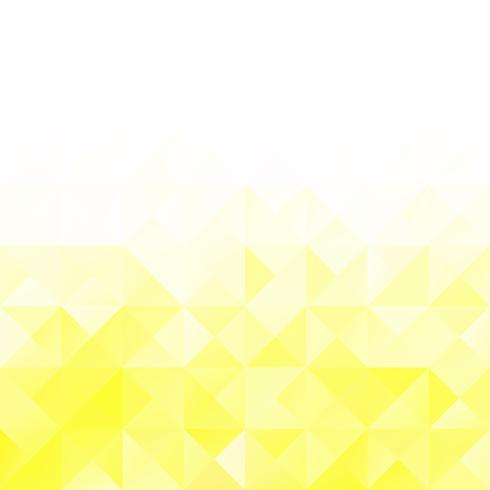 Fondo mosaico de rejilla amarilla, plantillas de diseño creativo