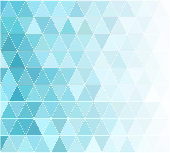 Blauer Gitter-Mosaik-Hintergrund, kreative Design-Schablonen