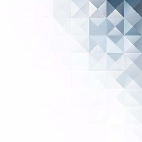 Gray White Grid Mosaic Background, kreative Design-Schablonen