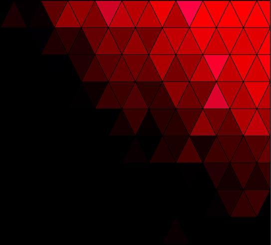 Roter Platz-Gitter-Mosaik-Hintergrund, kreative Design-Schablonen