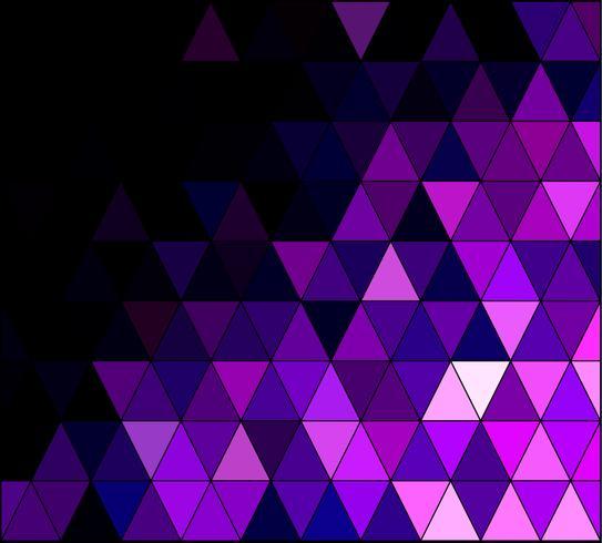 Purpurroter quadratischer Gitter-Mosaik-Hintergrund, kreative Design-Schablonen
