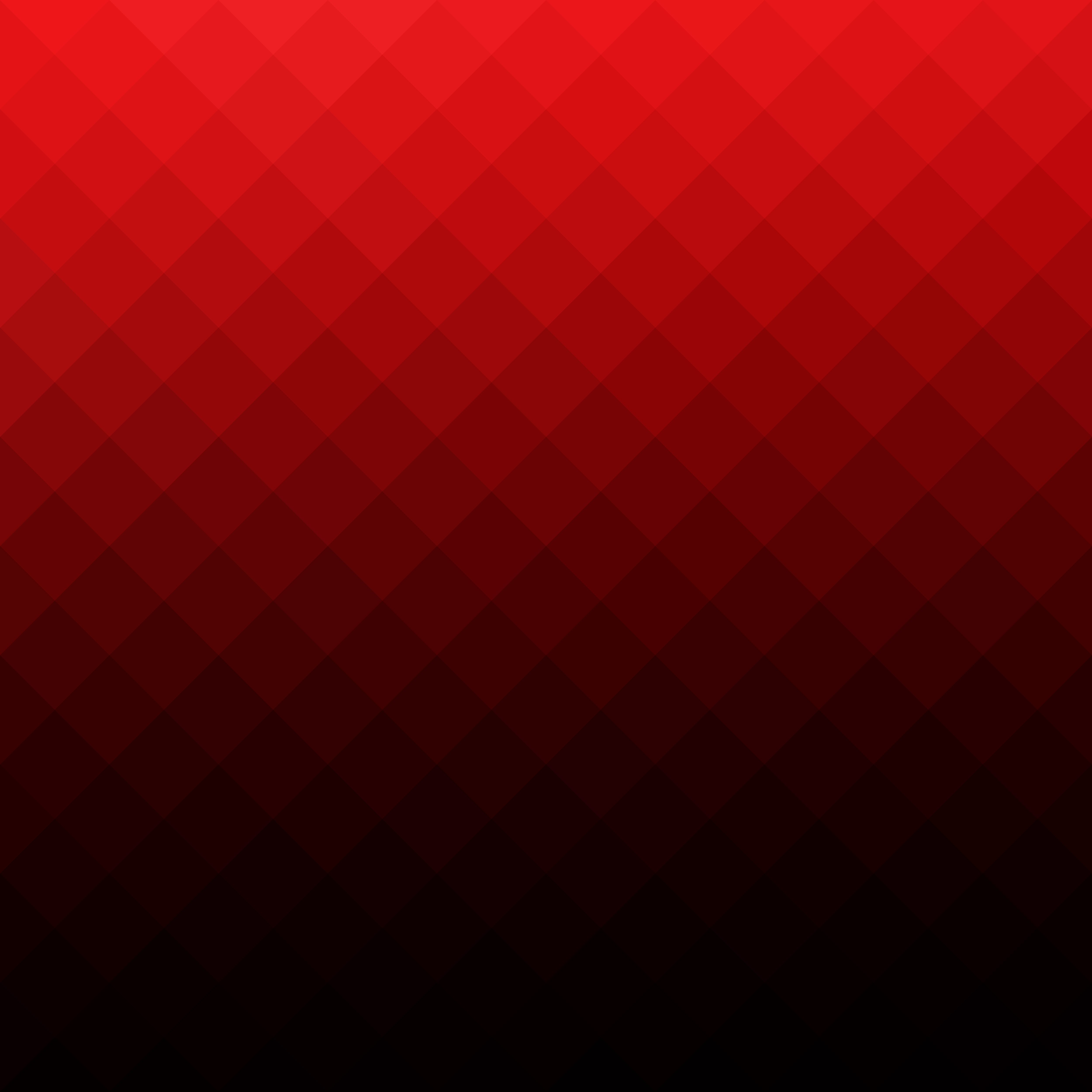 Mosaic Logo Template: Red Square Grid Mosaic Background, Creative Design
