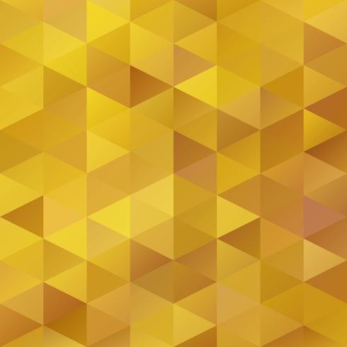 Gelber Gitter-Mosaik-Hintergrund, kreative Design-Schablonen