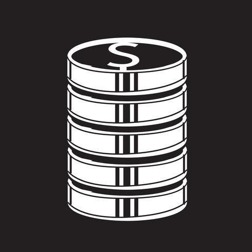 Icono de signo de símbolo de dinero