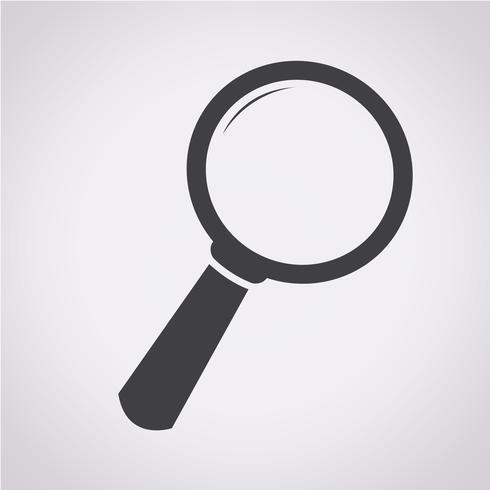 Buscar icono símbolo de signo vector