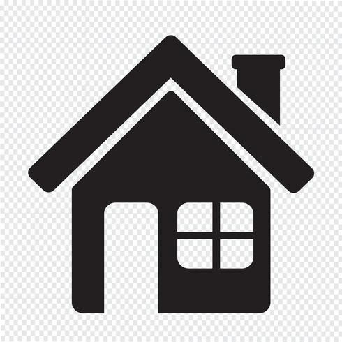 Home icon  symbol sign vector