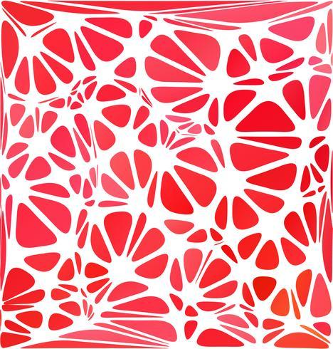 Stile moderno rosso, modelli di design creativo vettore