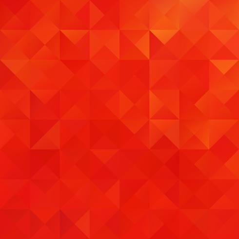 Priorità bassa del mosaico di griglia rossa, modelli di design creativo vettore