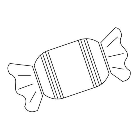 bonbons icône symbole signe