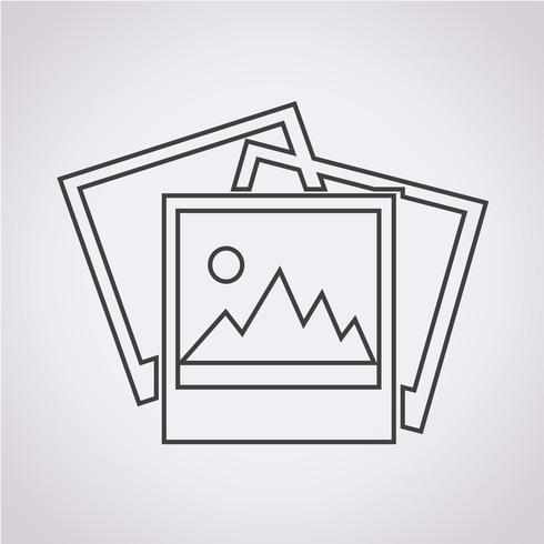 Foto pictogram symbool teken