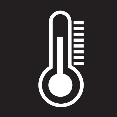icono de termómetro símbolo signo