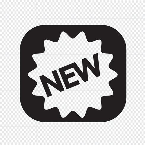New icon  symbol sign vector
