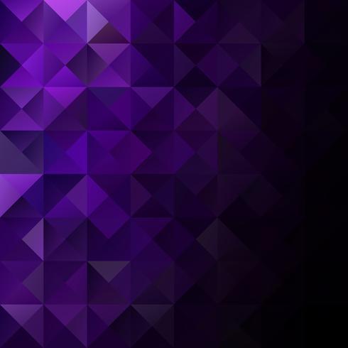 Fondo de mosaico de rejilla púrpura, plantillas de diseño creativo vector